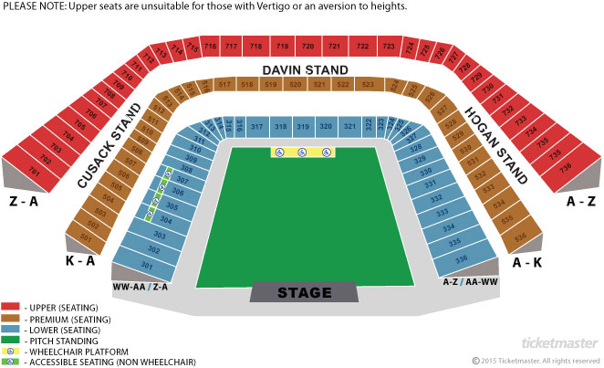 Croke Park Seating Plan Mayoclub51 Com